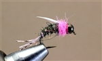 B SMO's PINK PRINCESS TUNGSTEN BEAD HEAD NYMPH