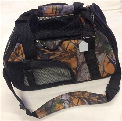 Camo Pet Carrier