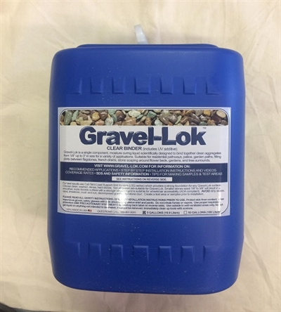Gravel-Lok Clear Binder