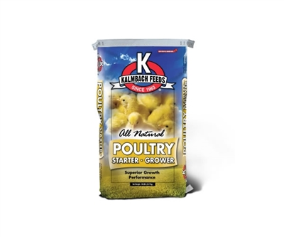Kalmbach 20% All Natural Flock Starter Grower Crumbles
