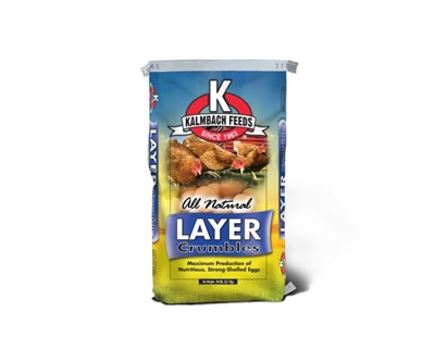 Kalmbach 17%  All Natural Layer Crumbles