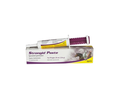 Zoetis Animal Health Strongid Horse Dewormer Paste
