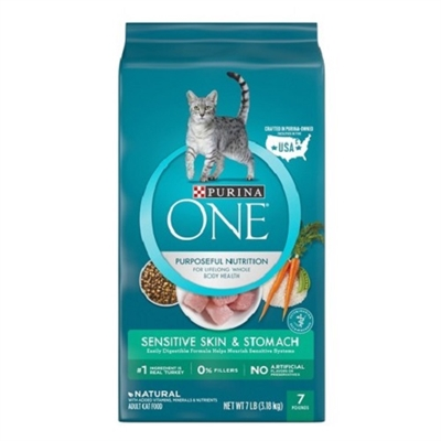 Purina ONE Sensitive Skin and Stomach