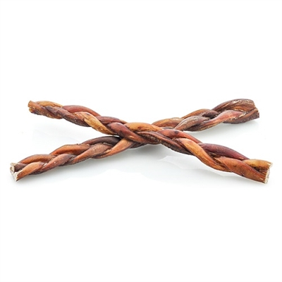 "Nature's Own 12"" Braided Bully Sticks"