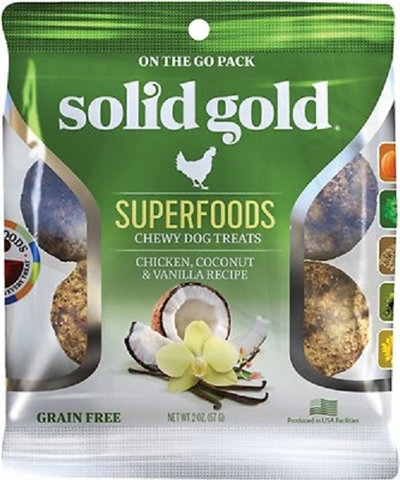Solid Gold Super Foods Chewy Dog Treats