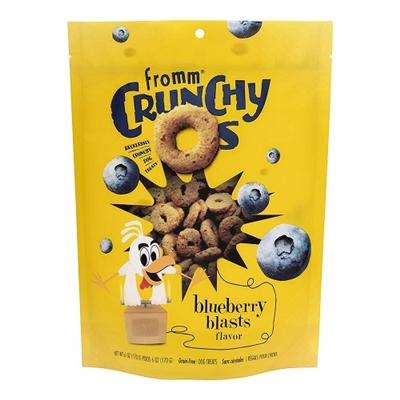 Fromm Crunchy O's Blueberry Blasts