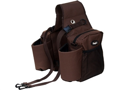 Tough-1 Nylon Saddle Bag