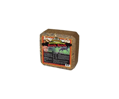 Heartland Wildlife Buck Brick - Acorn