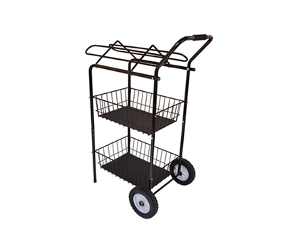 Easy-Up Show Cart with Saddle Rack