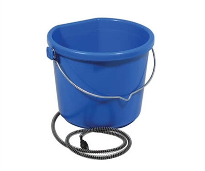5 Gallon Flatback Heated Water Bucket