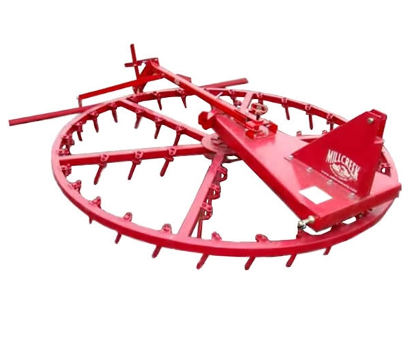 Millcreek Spin Groomer Self Driven Rotary Harrow Arena Rake