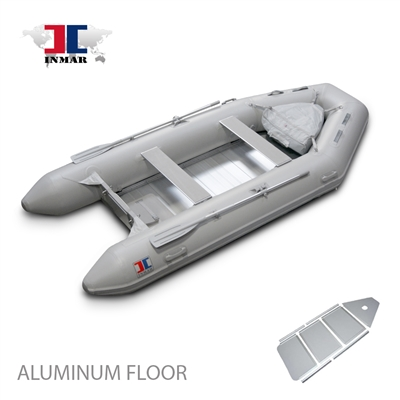 "INMAR, 320-TS, 10'6"" aluminum Floor, Tender, Inflatable, Boat"