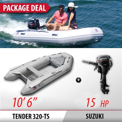 "INMAR, 240H, TS, 8'0"" Air, Floor, Tender, Inflatable, Boat"