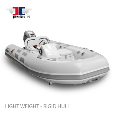 INMAR 320 YS luxury rigid tender boat, inflatable, console kit