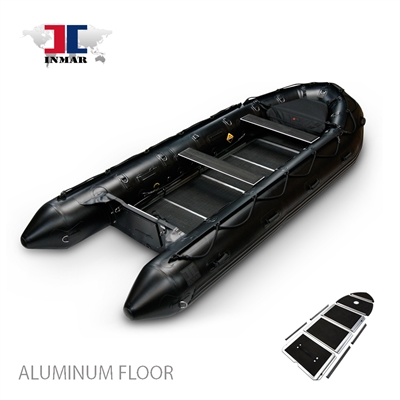 INMAR-530-MIL-aluminum, floor-Military-Series-Inflatable-Boat