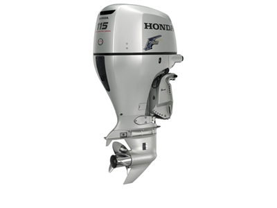 "Honda 115 hp, BF115D1XCA, 4-stroke, 25"" - Electric Start  - Remote Steering - Power trim and tilt - Counter Rotation"