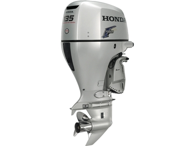 "Honda 135 hp, BF135A2XCA, 4-stroke, 25"" - Electric Start  - Remote Steering - Power trim and tilt - Counter Rotation"