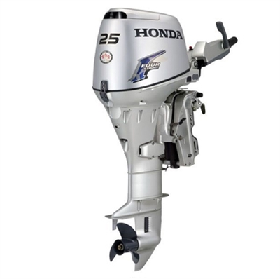 "Honda 25 hp, BF25D3SHG, 4 stroke, 15"", Electric start, Tiller Handle, Pop Included, Gas Assist"