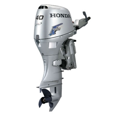 Honda 40hp bf40d2lha 4 stroke 20 electric start for Honda outboard motor sales