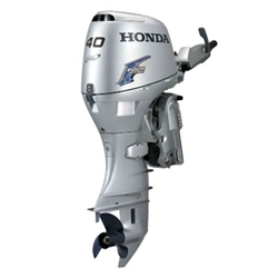 "Honda 40hp, BF40D2LHA, 4-stroke, 20"" - Electric Start  -Tiller Handle - Gas Assist"