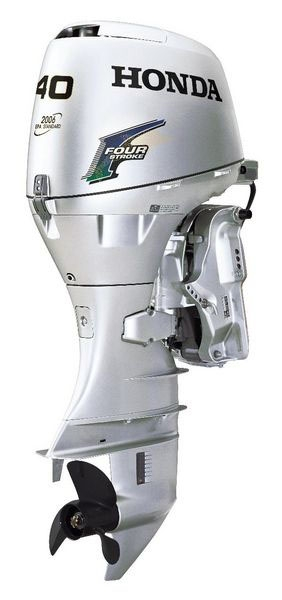 Honda 40hp bf40d2lrt 4 stroke 20 electric start for Top rated outboard motors