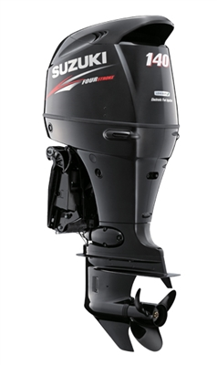 "Suzuki 140hp DF140ATX, 4-stroke, 25"" Extra Long Shaft - Electric Start - Remote Steering"