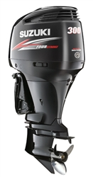 "Suzuki 300hp DF300APX, 4-stroke, 25"" Extra Long Shaft - Electric Start - Remote Steering - Select Rotation - PTT"