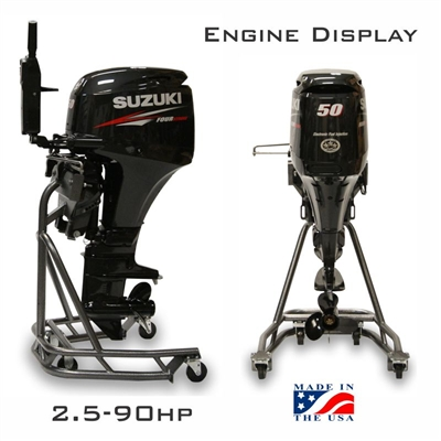 Outboard Engine Display 2.5 to 90 HP Models