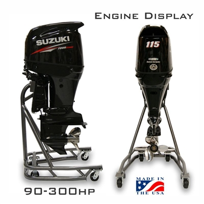 Outboard Engine Display 90 to 300 HP Models