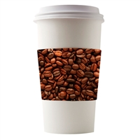 COFFEE CUP SLEEVES - 5 designs to choose from