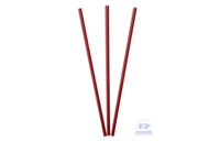 "7.5"" Red Sip Straws"