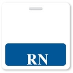 "Badge Buddies Blue ""RN"" Horizontal"