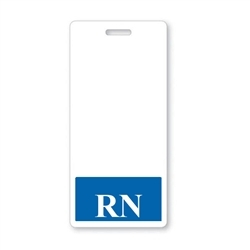 """RN"" Vertical Badge Buddies, Blue"