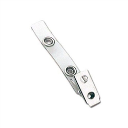"2 3/4"" Vinyl Strap Clip With Larger 7/16"" Steel Snap Has A Tighter Seal."