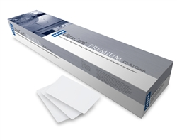 Fargo 82137 UltraCard Premium CR-80 30 mil Composite Cards with High-Coercivity MagStripe - 500/Box