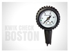 Kwik Check Gauge Boston Valves