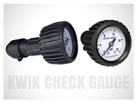 Kwik Check Back Mount Gauge