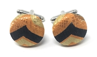 LOYALTY 100% SILK HANDMADE CUFFLINKS CL-113A