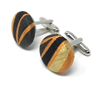 LOYALTY 100% SILK HANDMADE CUFFLINKS CL-113B