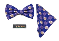 Ghanaian Mythical Two-Headed Crocodile - Unity Tied Bow Tie