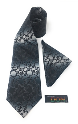 "Gye Nyame - ""Power"" Neck Tie With Hanky"