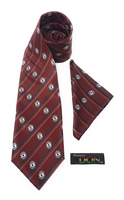 "Mmara Krado - ""Law and Order"" Tie Set with Hanky"