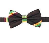 Kente (Dignity) Pre-Tied Bow Tie Set With Matching Hanky