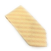 "The Cross ""T"" Tan Silk Neck Tie Set"