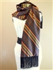 Kente Scarf (Brown In-lining)