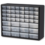 Hardware Craft Fishing Garage Storage Cabinet in Black with Drawers