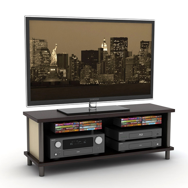 50 inch flat panel tv stand entertainment center. Black Bedroom Furniture Sets. Home Design Ideas