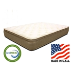 Twin size 11-inch Thick Quilted Euro-top Innerspring Mattress