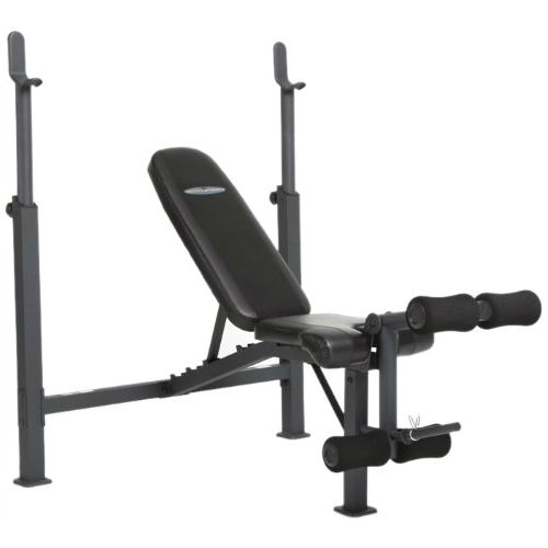 Steel frame weight bench with adjustable height bar chest press military incline decline - Incline and decline bench press ...