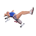 Adjustable 4-Position Incline Decline Flat Upright Fitness Bench Leg Raises